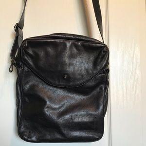 Banana Republic brown leather crossbody bag